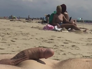 Beach Humiliation 14 beach ebony exhibitionism video