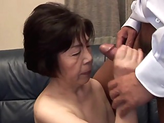Aiko hanada 72y asian chinese granny video