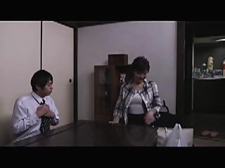asian mom sucked and fucked by this guy japanese mature  video