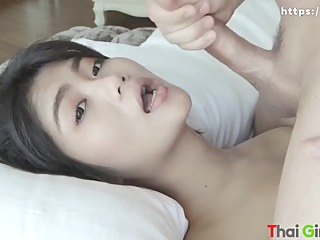 Fucking beautiful Thai girl amateur asian brunette video