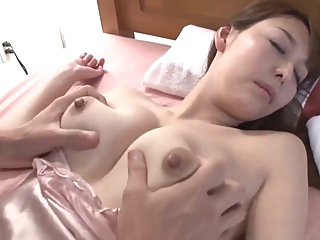 VOSS-120 My Auntie Lives Alone And When She Got A Bad Cold asian brunette hd video