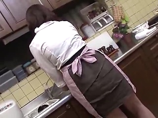 Hey Mom! I'll wash your back F japanese mature  video