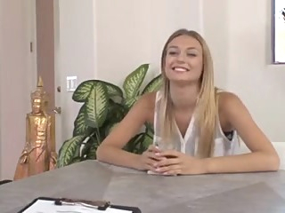 AMWF Polish Natalia Starr asian blonde interracial video