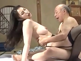 Grandfather and not his daughter-in-law is fuck asian creampie mature video
