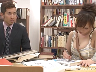 Chihaya Yutsuka hot Asian milf gets big tits fucked asian big tits blowjob video