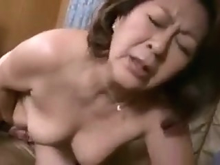 Affection of Mother and Son japanese mature milf video