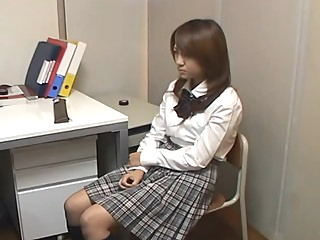 Stealing Schoolgirl blackmailed into Sex asian japanese  video
