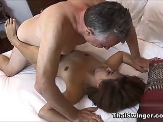 The Thai Student - ThaiSwinger amateur asian cumshot video