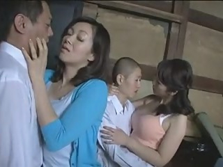 stepmother's Swap stepSon's When They're stepsisters asian cumshot group sex video