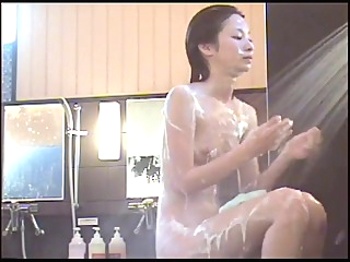 Bathing of the Japanese woman taken by a hidden camera 17 amateur big tits hidden cam video