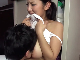 Hot japanese married neighbour teasing me japanese   video