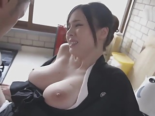 Aimi Yoshikawa HBAD-392 Big Tits Widow Exposed To The Neck And Silent Ascen asian babe big ass video