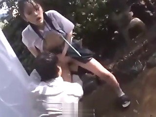 very cute japanese forced in rain . FULL movie asian japanese  video