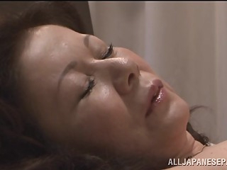 Chizuru Iwasaki hot mature Asian chick is fucked hard asian blowjob hardcore video