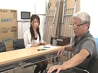 Japanese Grandpa having fun with young girls part 2 asian japanese  video
