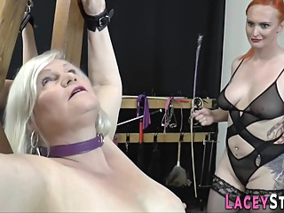 Old Full-breasted Skank Gets Tongued bdsm big ass blonde video