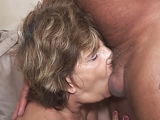 deepthroat with 79 years old mom anal deepthroat granny video