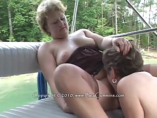 Busty Mature Lesbians On A Boat big tits blonde brunette video