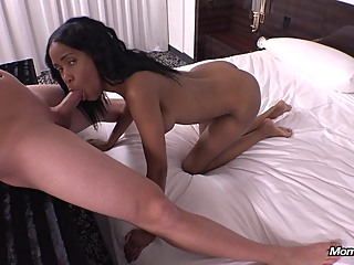 Busty Ebony Milf Has Her Ass Creampied anal big cock big tits video
