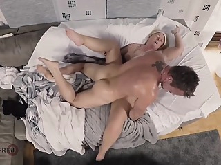 My Aunt Begs Me To Fuck Her! blonde german granny video