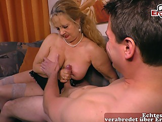 german mature big natural boobs mom fuck younger guy amateur big tits blonde video