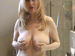 Kinky German Mature Woman Loves Morning Sex big tits blonde german video