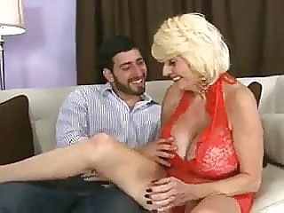 Big boobs granny fucking with a young guy blonde mature big boobs video