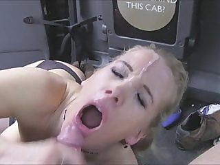 Rebecca More – Taxi Driver pornstar public nudity stockings video
