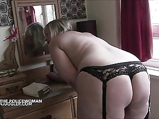 Big tits and ass – British Policewoman bbw tits big boobs video