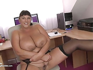 British mature secretary with huge tits bbw mature tits video