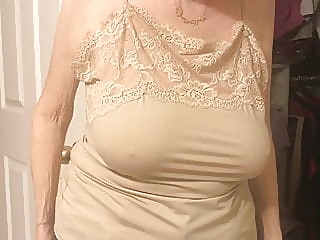 Huge 84 Year Old Granny's Tits! mature nipples granny video