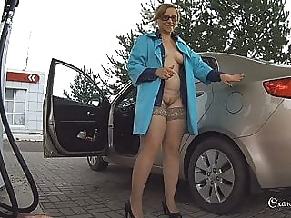 Flashing in a public transport and nude car wash bbw mature public nudity video