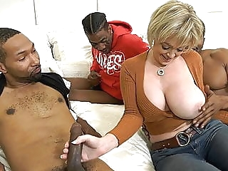 Hot Cougar Wife Dee Williams Gets Pounded By BBC anal blowjob interracial video