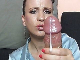 MISTRESS S: EPIC Cumshot Compilation! cumshot handjob milf video