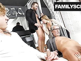 Swinger Family Cums by the Club amateur cumshot hardcore video
