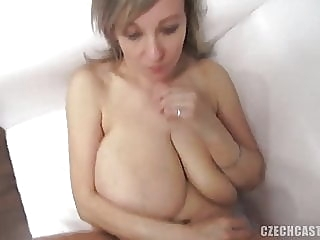 amazing saggy tits, sadly no breastmilk.. mature top rated milf video