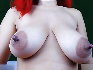 Girl play with her big juicy boobs (Part2 - 6H show) webcam anal close-up video