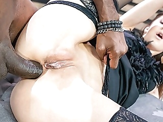 LETSDOEIT Xtreme Rough Anal With BBC For Hot Teen Lina Luxa anal blowjob hardcore video