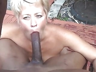 Never to old to suck That BBC grandma!!! amateur blowjob cumshot video