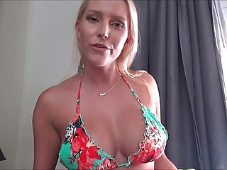 Mommy showed son Boobs and has agreed to shoot homemade porn... amateur big tits blonde video