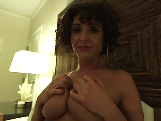 Amber ATM anal big tits brunette video