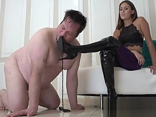 A Day in the Life of the MGM Houseslave femdom fetish hardcore video