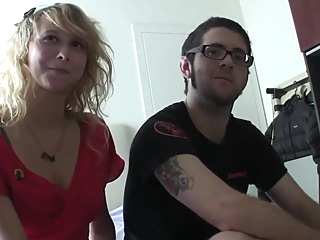 Couple ( spanish ) amateur blonde hd video