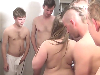 After Soccer Training Chubby Gets To Play With Their Balls big tits blowjob gangbang video
