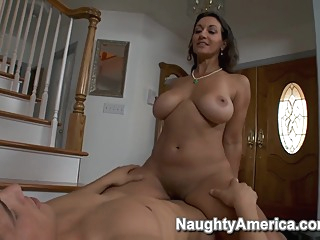 Persia Monir & Chris Johnson in My Friends Hot Mom big butt big tits blowjob video