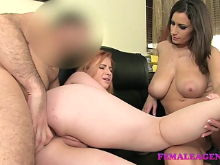 FemaleAgent: Curvaceous redhead in first time anal anal hd redhead video