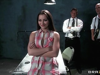 Pornstars Like it Big: Fuck the Law. Dani Daniels, Bill Bailey, Johnny Sins blowjob brunette hd video