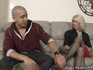 Jodie Stacks & Bruno Dickemz in My Friends Hot Mom blonde blowjob mature video