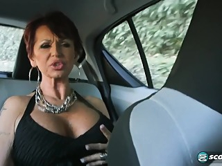 Italian Gilf big tits hd brunette video