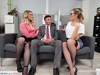 KK KM BEAUTY hd blonde brunette video
